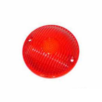 Lente Da Lanterna Com Lente Frontal - Vermelho (S171VM)