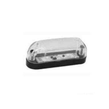 Lanterna Delimitadora - Com LED Bivolt - Cristal (S2016CR)