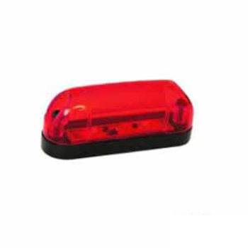 Lanterna Delimitadora - Com LED Bivolt - Vermelho (S2016VM)