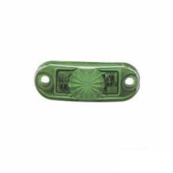 Lanterna Luz de Placa - Com LED - Verde (S2064VD)