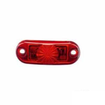 Lanterna Luz de Placa - Com LED - Vermelho (S2064VM)