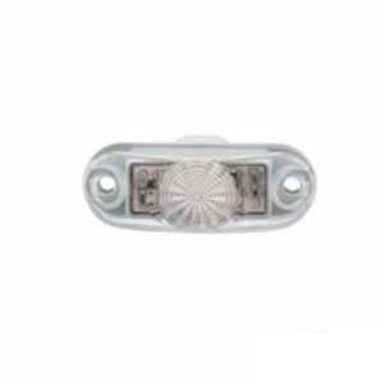 Lanterna Luz de Placa LED Selado - Cristal (S2066CR)