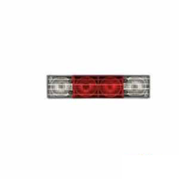 Lente Traseira Ponteira - Cristal Meio - Vermelho (S298)