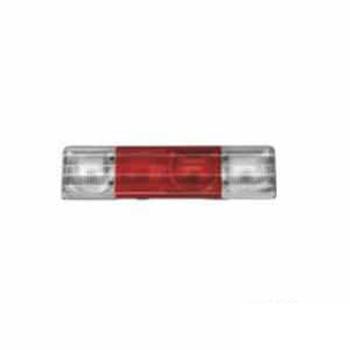Lente Cristal e Vermelho para Lanterna Traseira S1040 (S302)