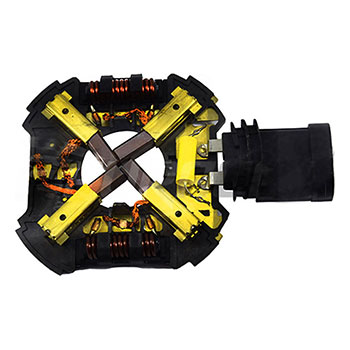 Porta Escova Ventilação Radiador C3 PEUGEOT 307 308 (SEW011)