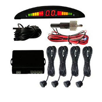 Sensor de Estacionamento 12V Preto Display (SKY0001S)