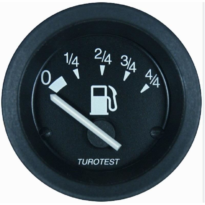 Relógio Combustível - 52mm (TUR300088) - TUROTEST - PEÇA  -