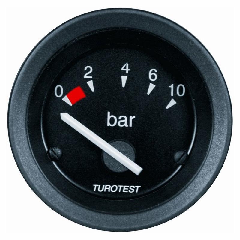 Relógio Pressão Óleo - 52mm (TUR300089) - TUROTEST - PEÇA  -