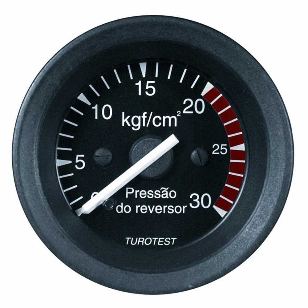 Manometro Conversor 30Kg 52mm (TUR300369) - TUROTEST - PEÇA