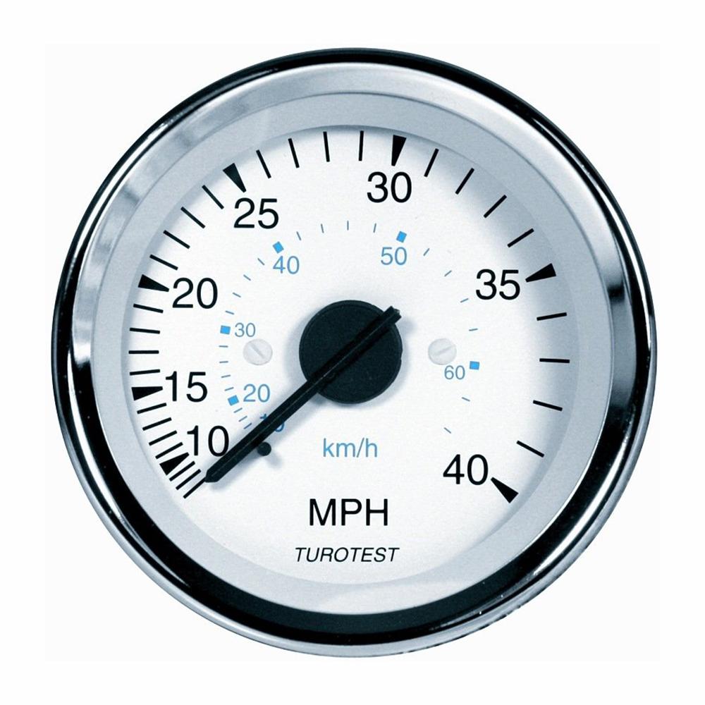 Velocimetro VALMET - 85MM 40Mph (TUR300376) - TUROTEST - PEÇ