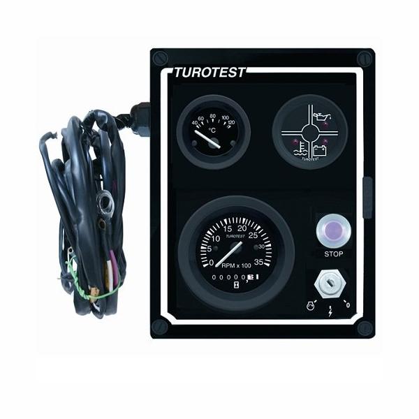 Painel Instrumentos e Chicote 12V (TUR300535) - TUROTEST - P