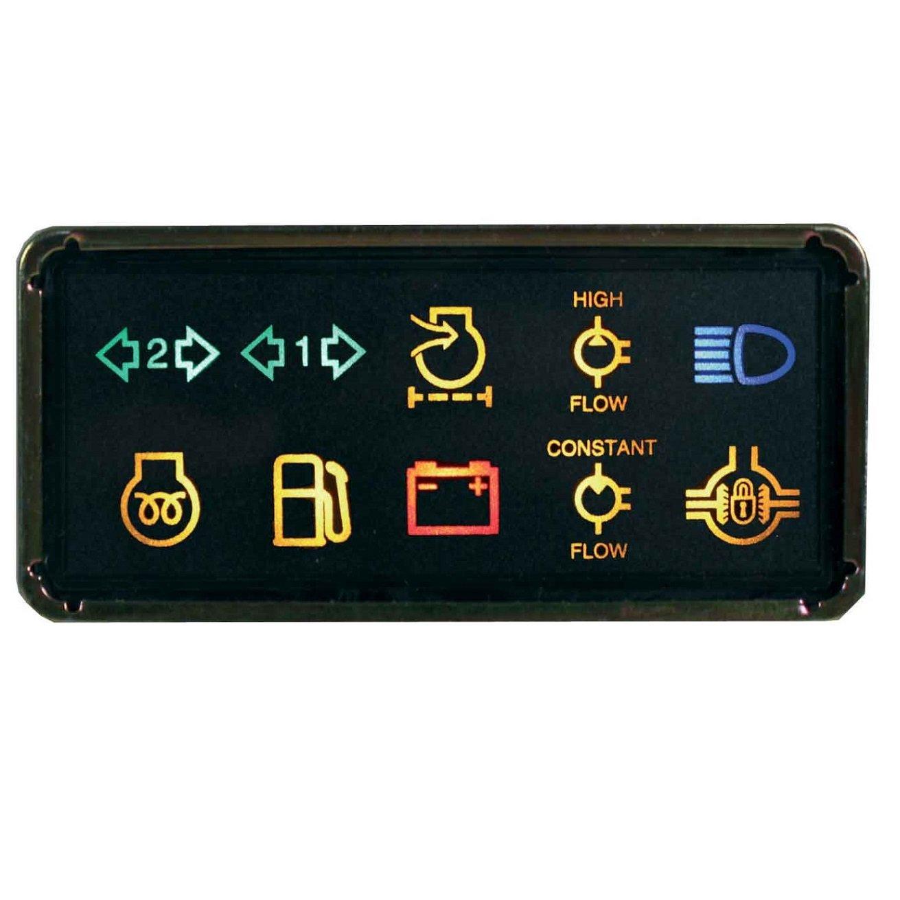 Relógio Sinalizador 10 Funções Luzes de Aviso VALMET - Lado