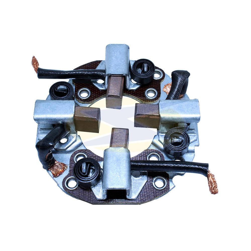 Porta Escova Motor de PartidaEmpilhadeira MITSUBIHI - MITSUB