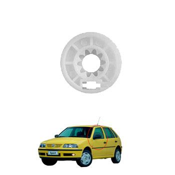 Roldana Maquina Vidro Elétrico GOL 1996 até 2006 - 4 Portas