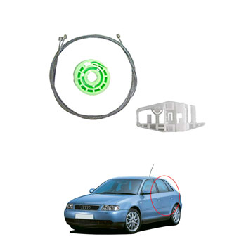 Kit Reparo Máquina Vidro Elétrico AUDI 1998  até  2004 - Por