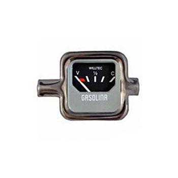 Relógio Combustível FUSCA 1968 até 1970 - Aro Cromado (W2390