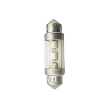LED Torpedo 28MM 12V - 2 LED 5W - Branco (WFLED642912V) - WF