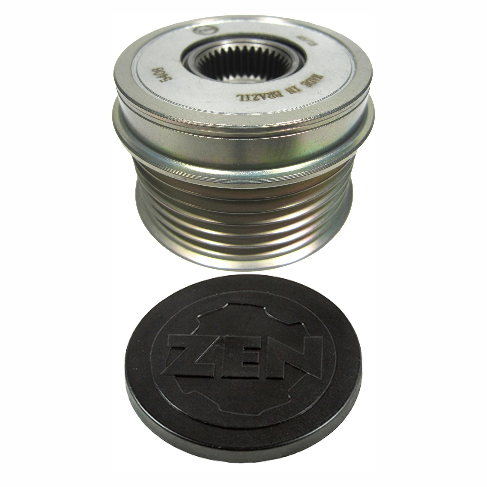Polia Alternador Roda Livre LANCER  (ZEN5406)