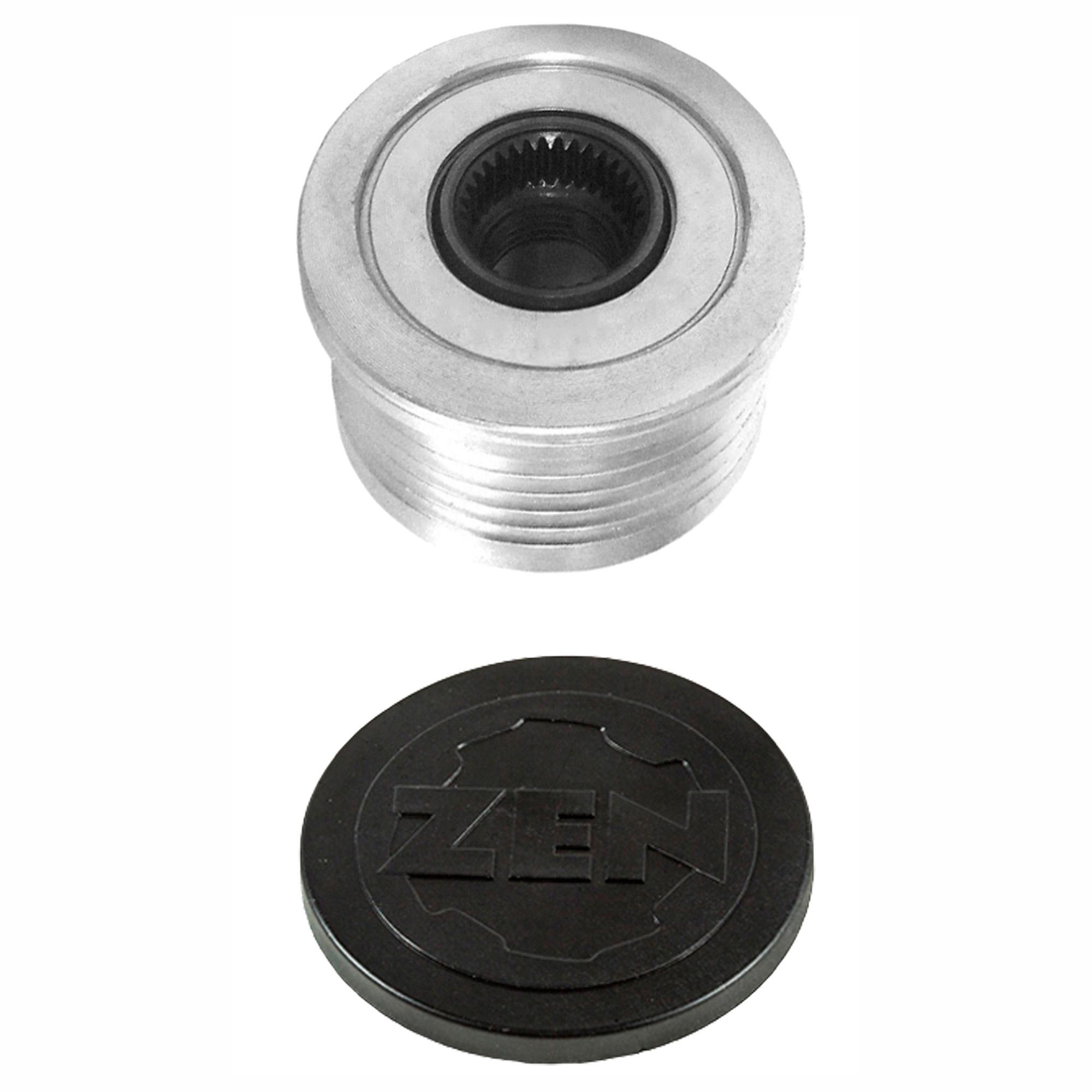 Polia Alternador Roda Livre GOLF - Sistema BOSCH (ZEN5523)