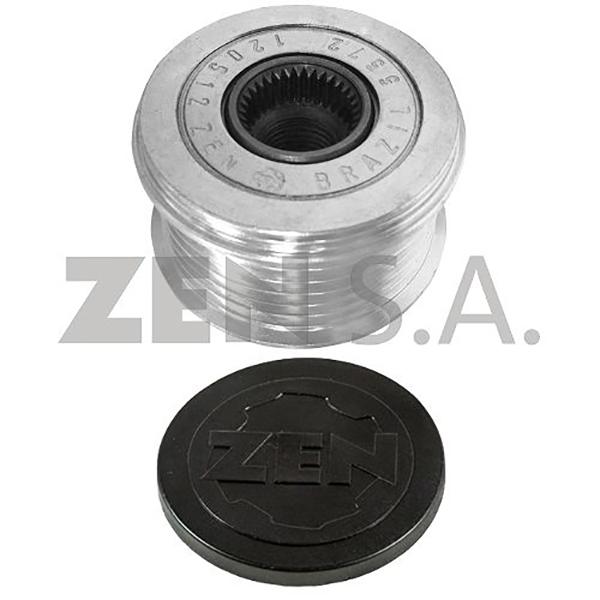 Polia Alternador Roda Livre AZERA (ZEN5572)