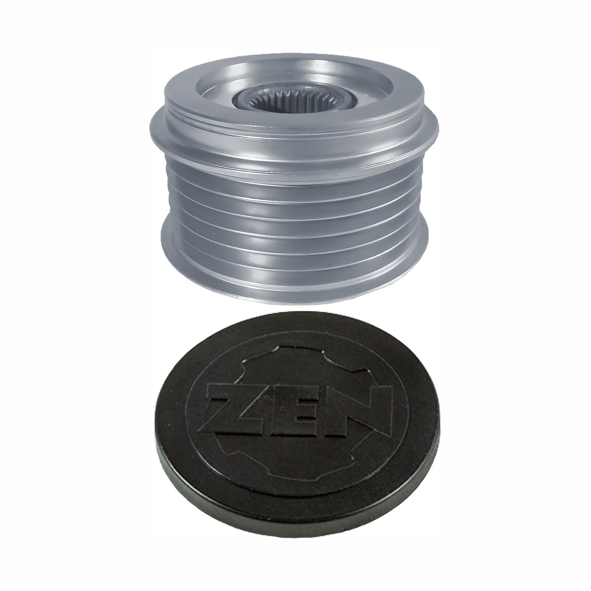 Polia Alternador Roda Livre AUDI TOUAREG (ZEN5595) - ZEN - PEÇA - SKU: 24866 A4 /A8 /A6 /TOUAREG /A5 /A7 /Q5 /Q7