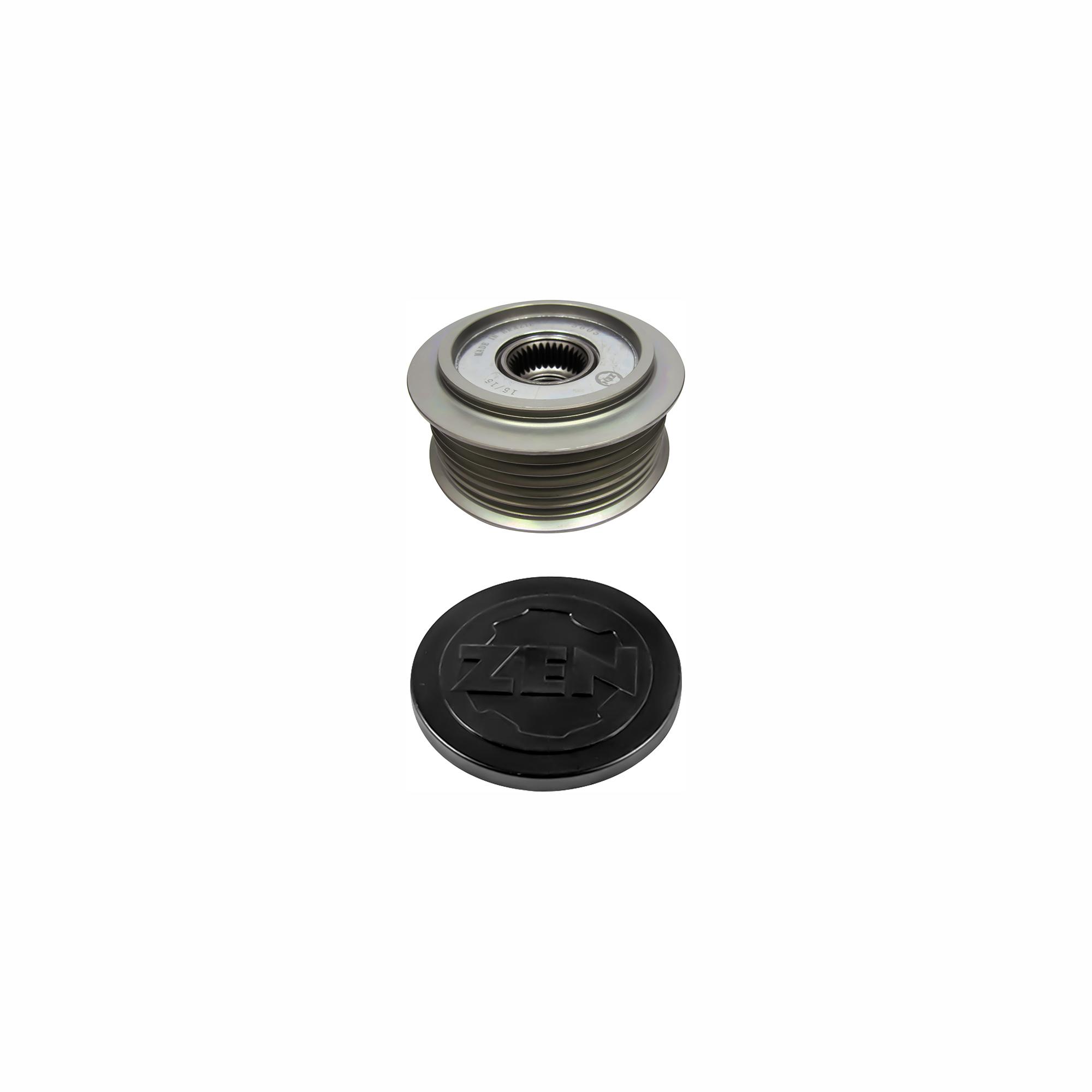 Polia Alternador Roda Livre AUDI A6 (ZEN5605) - ZEN - PEÇA