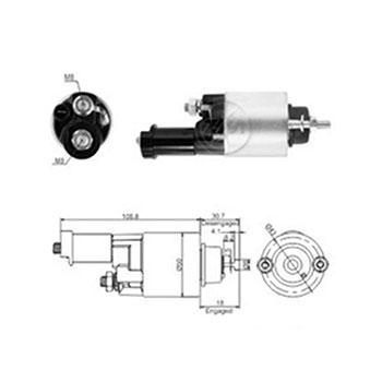 Automático Motor de Partida ACCORD - Partida Sistema DENSO (