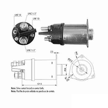 Automático Motor de Partida 24v () - ZM - PEÇA  - Cod. SKU: