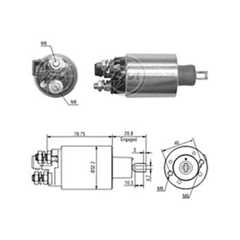 Automático Motor de Partida F250 MWM 6CC - Partida Sistema P