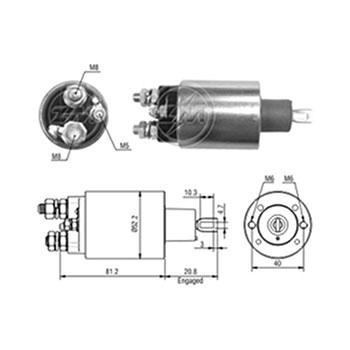 Automático Motor de Partida TRANSIT MBB 180 IVECO - Partida