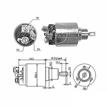 Automático Motor de Partida 12v () - ZM - PEÇA - SKU: ZM3775