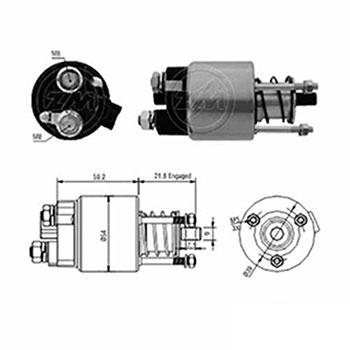 Automático Motor de Partida 12v ZM397