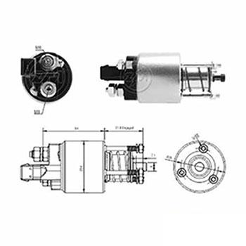 Automático Motor de Partida 12v ZM4397