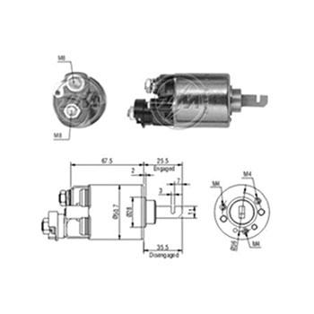Automático Motor de Partida ACCORD PRELUDE - Partida Sistema