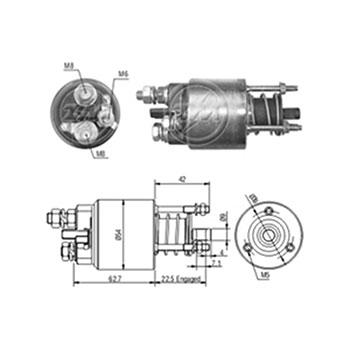 Automático Motor de Partida BRAVA MAREA PALIO - Partida Sist