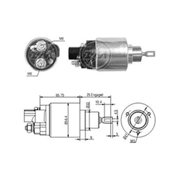 Automático Motor de Partida COROLLA 1998 até 2002 - Partida