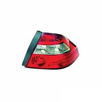 Lanterna Traseira PRISMA 06 até 2012 - Lado Direito (Bicolor