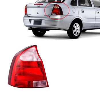 Lanterna Traseira CORSA SEDAN 2003 até 2007 - Lado Esquerdo